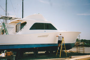 Oceana Boatworks - 53' Tiffany Repair Project