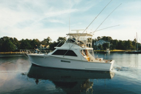 53' Tiffany Before Refit