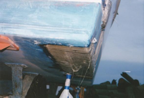 Oceana Boatworks 53 Tiffany Restoration Project